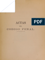 Actas Comision Redactora Cp Chileno 1874