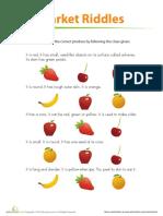 Fruit Riddle