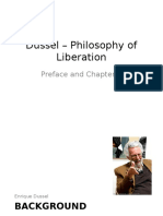 Dussel Philosophy of Liberation Preface and Chap 1
