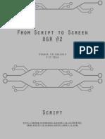Script to Screen OGR #2