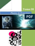 Ecuaciones Tomo III