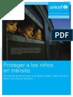 UNICEF Proteger a Los Niños en Tránsito_20.11.15