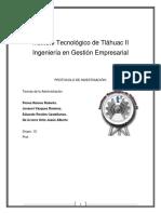 Teorías de la Gestión Empresarial