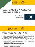 Clase Seminario Proyectos VPN 12-12