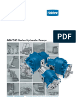 G20-G30 Series Hydraulico Pumps
