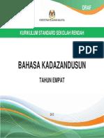 Dskp Bahasa Kadazandusun Tahun 4