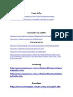 Info Web Sites