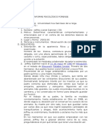 Jeffrey Dahmer Informe