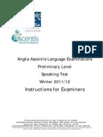 Preliminary Winter 2011-2012