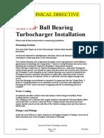 BB Turbo Installation