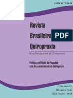 Revista Brasileira de Quiropraxia Vol 4 n 2