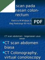 CT Scan CA Colon