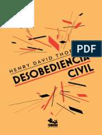 Thoreau DesobedienciaCivil