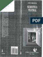 Anne Ubersfeld - Semiotica Teatral