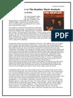Beach Boys vs Beatles Essay