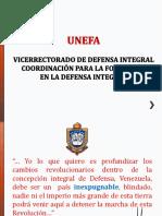 Plán de Estudio Defensa Integral UNEFA ENERO2016