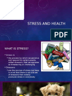 stress and health vaessen