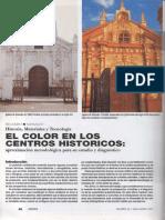 El Color en Los Centros Históricos