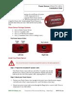 Install Note Power Sensor