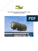 GRP Chemical Storage Tanks
