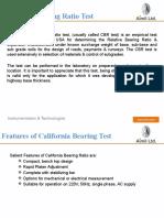 California Bearing Ratio (Aimil)