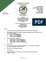 02_01_16SOEB Agenda Illinois Board of Elections