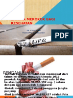 presentasi bahaya merokok
