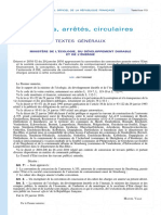GCO Strasbourg - cahier Des Charges