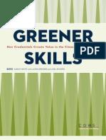 Greener Skills