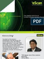 Corporate eScan presentation