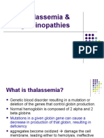 Thalasemia and Hemoglobinopathi