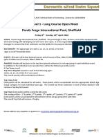 Derventio EXcel 10th Open Meet Entry Pack