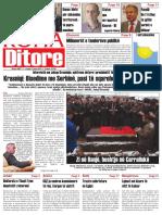 """Koha Ditore"" - Ballina, 4 janar 2011"