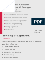 Design Analysis and Algorithm
