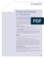 Finance Updater - Financial Leasing - January 2016