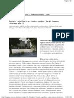02 02 2016 Bergamo.corriere-Seriate coprifuoco in centro storico