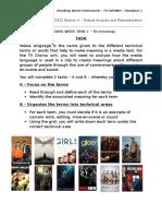 Task 1 Terminology Activity