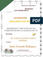 Trabajo Partes Máquinas Eléctricas JOSUE ALVARADO RODRIGUEZ