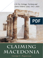 Claiming Macedonia (by George C. Papavizas)