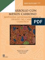 De La Torre Desafio Del Cambio Climatico Desarrollo Con Menos Carbono - 98