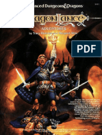 Tsr02021 - Dragonlance - Accessory - DragonLance Adventures