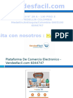 Plataforma De Tiendas Online - Vendesfacil.com 6044747