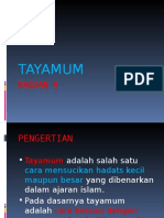 BAGIAN 4 TAYAMUM