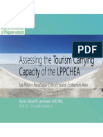 Assessing the Tourism Carrying Capacity of the LPPCHEA