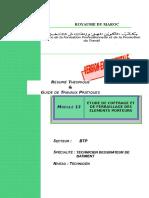 M13-Etude coffrage ferraillage éléments porteur-BTP-TDB.doc