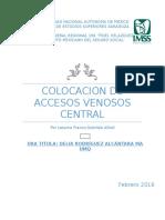 14. Colocacion de Accesos Venosos Subclavio y Yugular.pptx