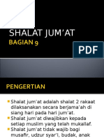 BAGIAN 9 Shalat Jum'At