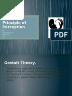 Gestalt's Principle of Perception