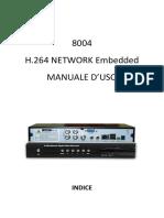 Skynet DVR 8004 Manuale