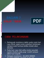Copy of Bagian 7 Syalat 'Idain